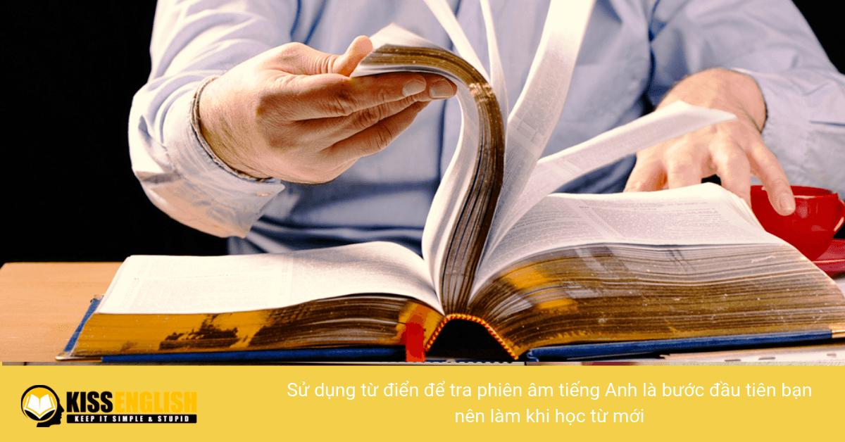 Từ điển tiếng Anh có phiên âm