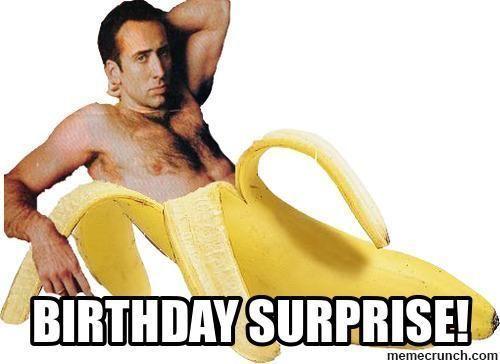 Bạn cũng có thể tự tạo những bức meme cực ngộ nghĩnh và hài hước như thế này để gửi tặng bạn bè vào ngày sinh nhật