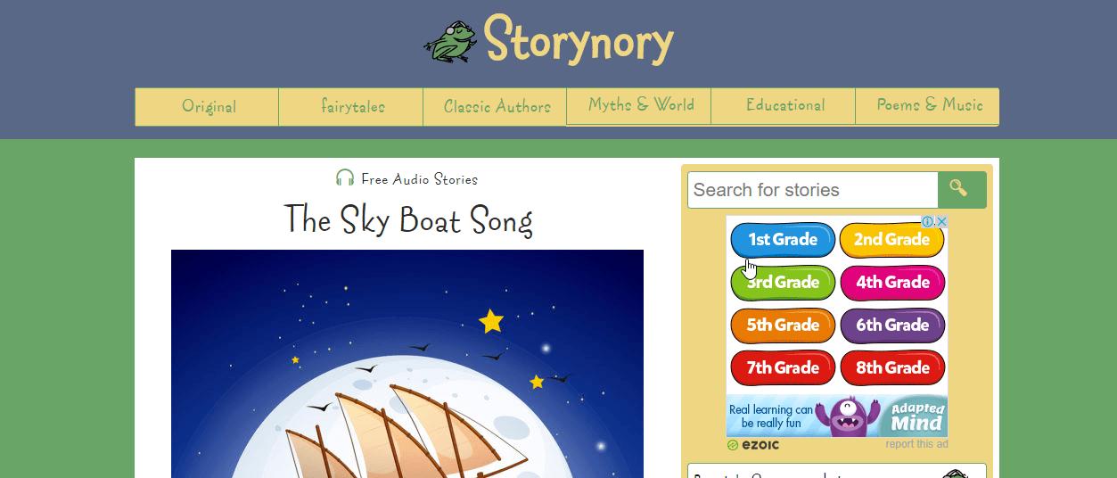 Trang Storynory