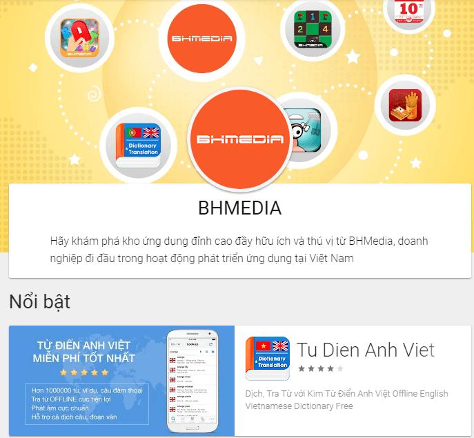 Từ điển của BH Media - phần mềm dịch tiếng Anh offline BH Media cho điện thoại.png