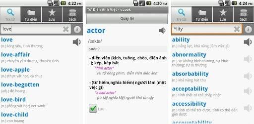 Vlook -bộ từ điển sở hữu 3.000 từ tiếng Anh thông dụng