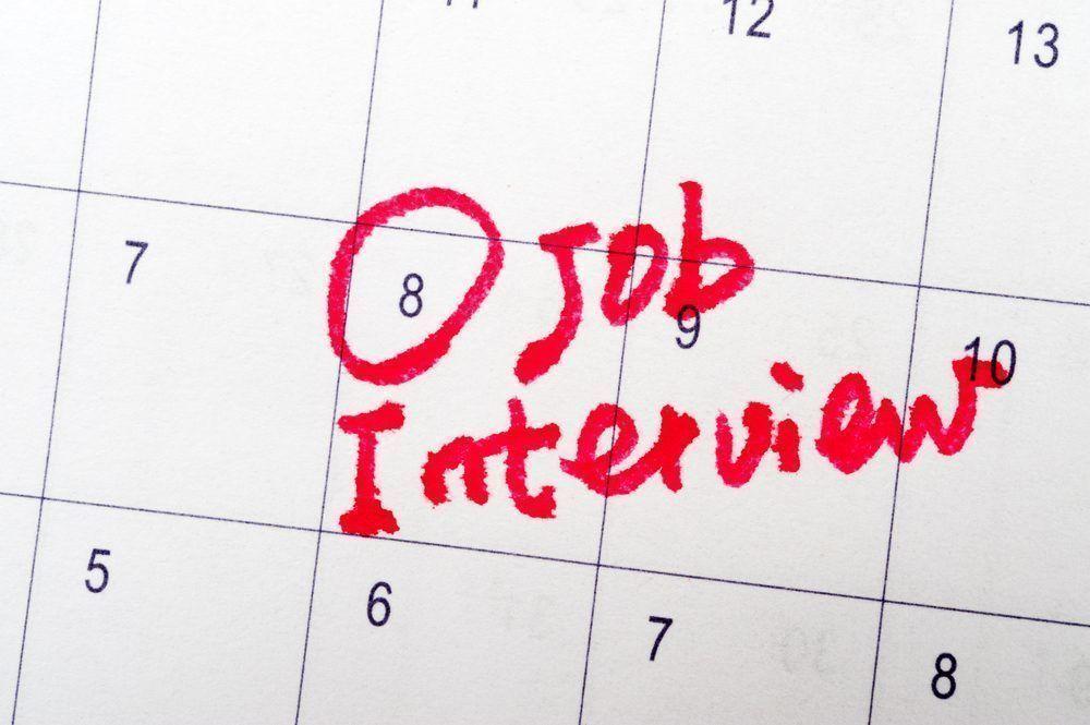 Cảm ơn nhà tuyển dụng và xác nhận lịch phỏng vấn