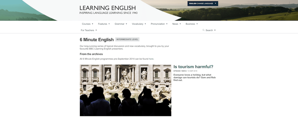 BBC Learning English - 6 Minute English