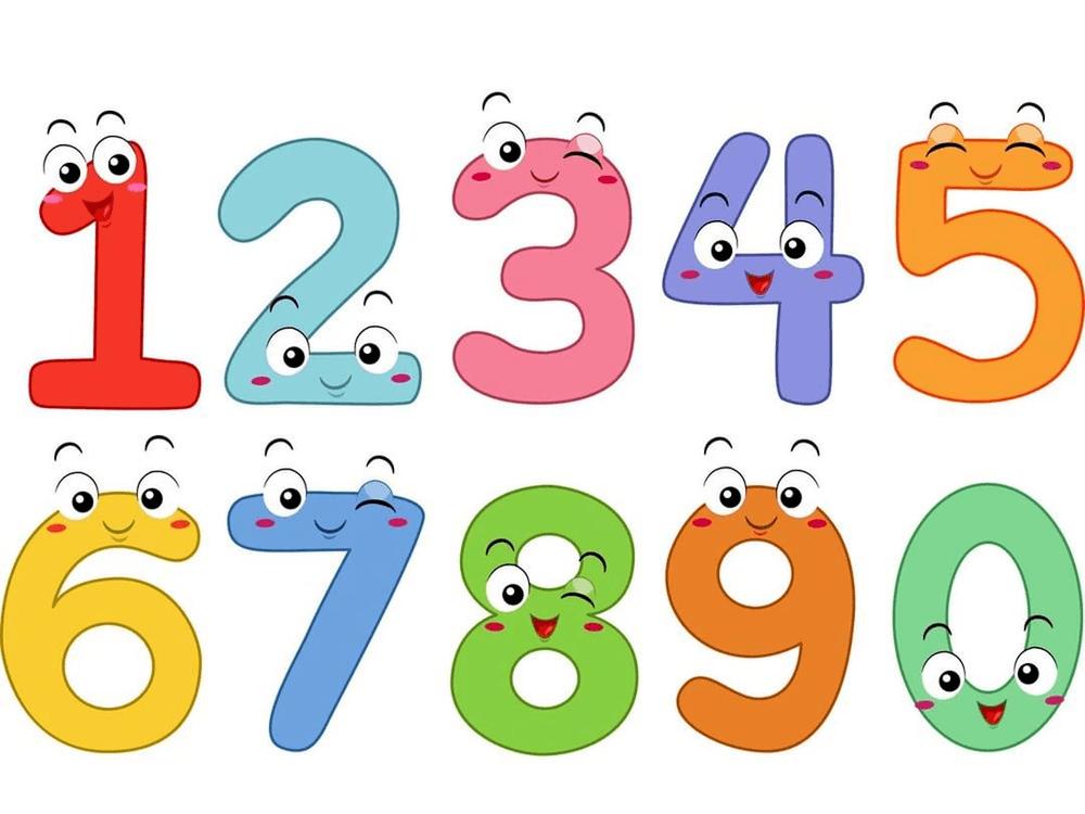 Cách đọc các số đếm từ 1 đến 9 trong tiếng Anh