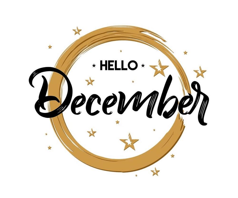 December tháng kết thúc năm