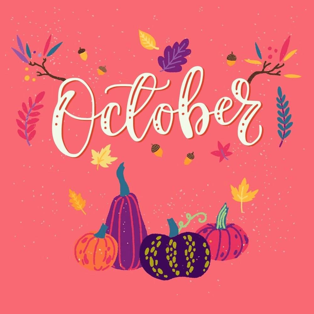 Tháng 10 đại diện cho hạnh phúc và no đủ