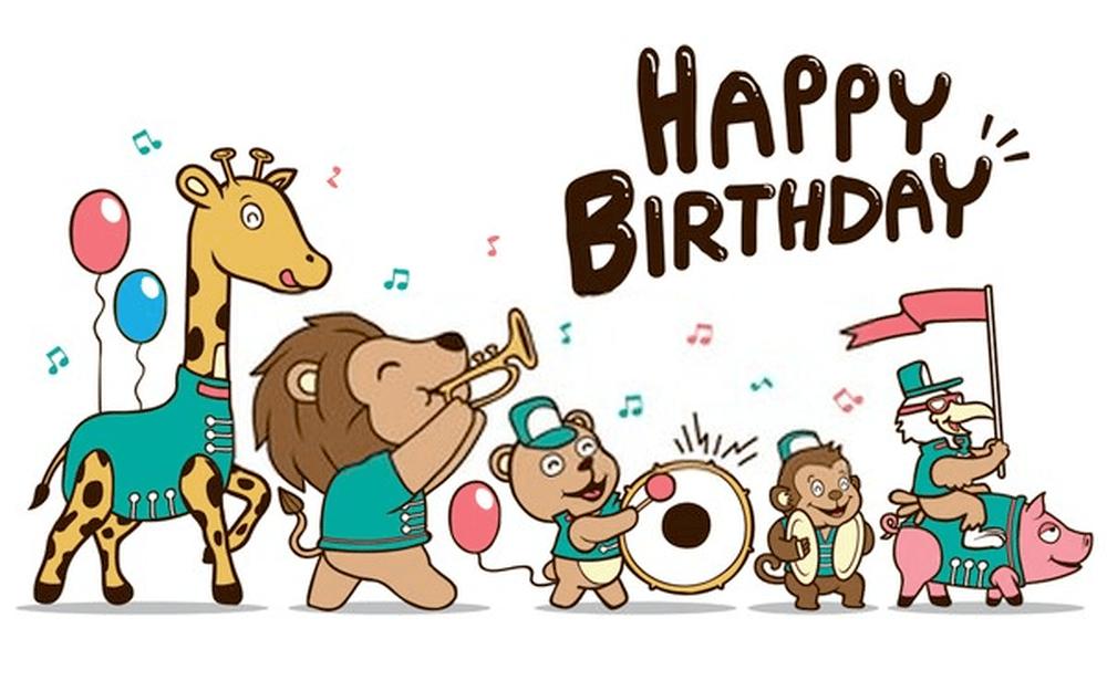 Bài hát Happy Birthday vui nhộn, rộn ràng