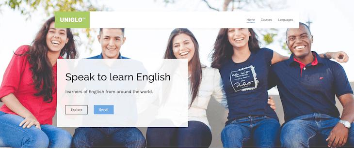Website học tiếng Anh với người nước ngoài HowDoYou.do