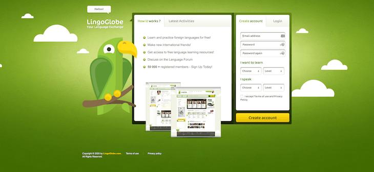 App học tiếng Anh LingoGlobe miễn phí