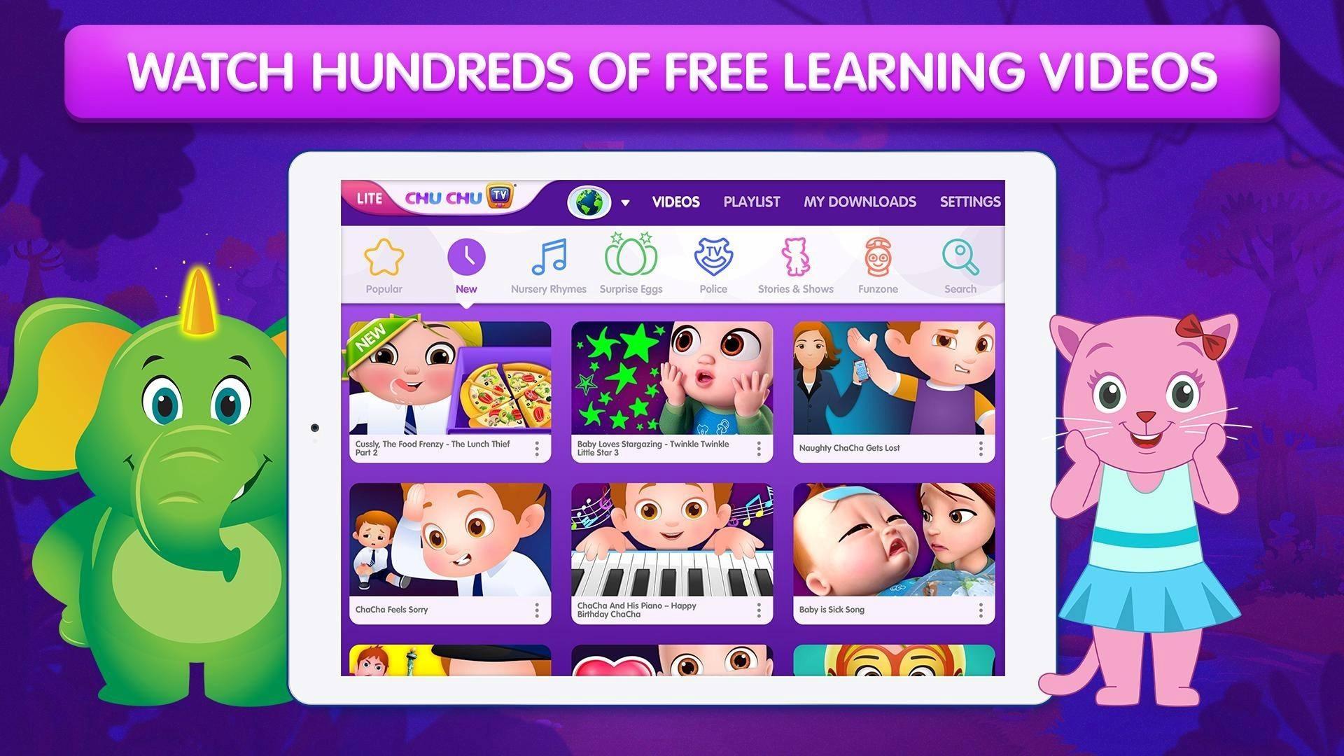 Chuchu TV Lite phần mềm học tiếng Anh phổ biến hiện nay