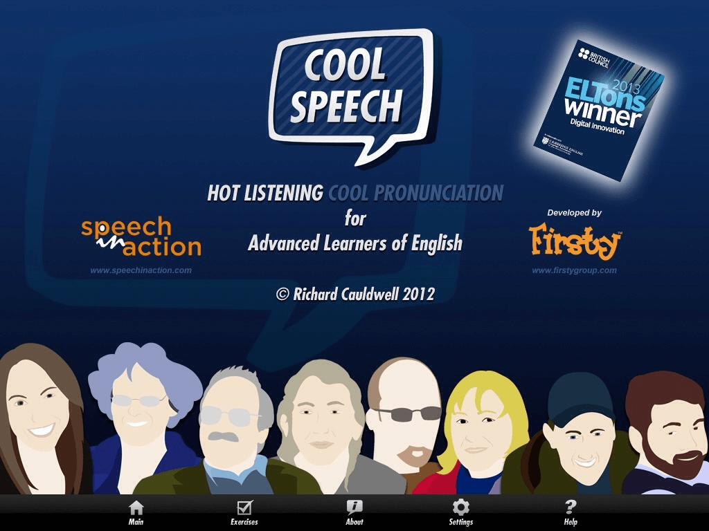 COOLSPEECH là ứng dụng đọc tiếng Anh theo giọng Mỹ