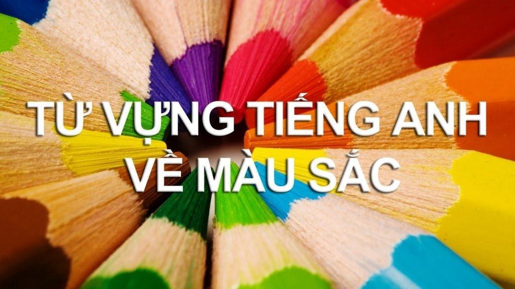 Tính từ nào chỉ màu sắc trong ngôn ngữ tiếng Anh?