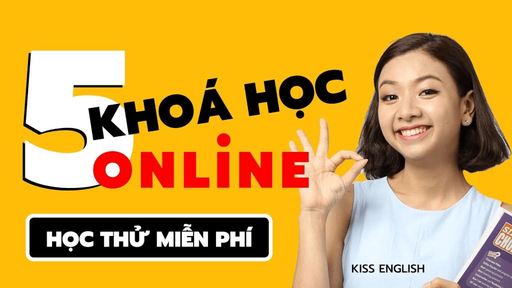 Bạn có thể tham gia học thử miễn phí với các khóa học online tại đơn vị