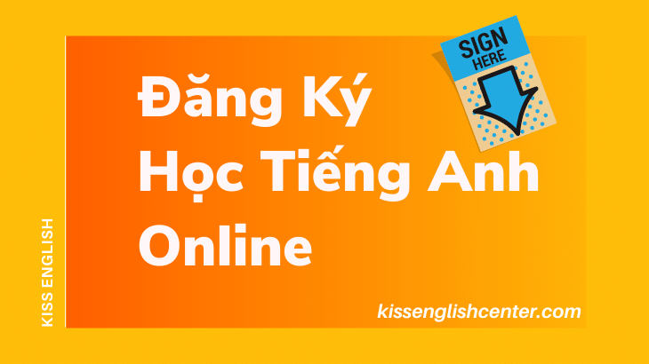 Đăng ký học tiếng Anh online