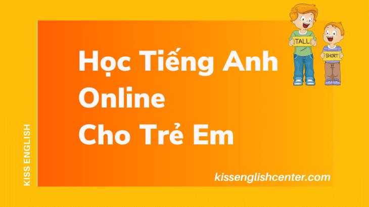 Học tiếng Anh online cho trẻ em